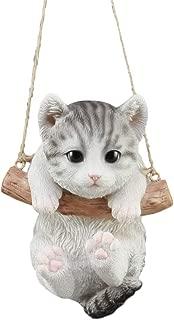 "Lifelike Teacup Shih Tzu Puppy Macrame Branch Hanger 5.25/""Tall With Jute Strings"