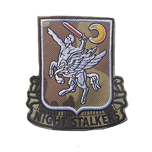 lihe008 Bordado brazalete magia pegatinas de la insignia de salida militar Morale Capítulo de gas de la ropa Mochila de bordado parche(2PCS)8×9CM (Color : 3)
