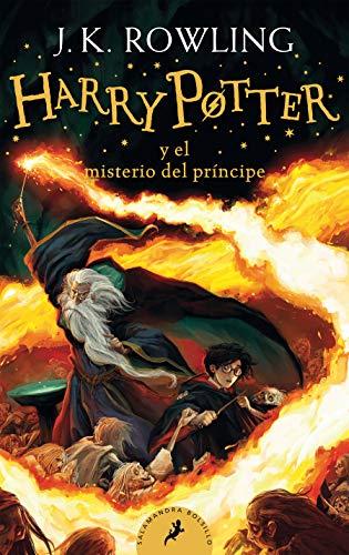 Libro Harry Potter 5 Tapa Blanda  marca Salamandra Bolsillo
