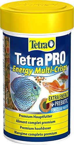 Tetra Pro Energy Premiumfutter (Flockenfutter für alle tropischen Zierfische, Fischfutter mit Energiekonzentrat für gesteigerte Vitalität), verschiedene Größen
