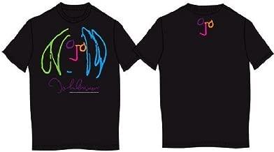 John Lennon Self Portrait Soft Jersey Black T-Shirt