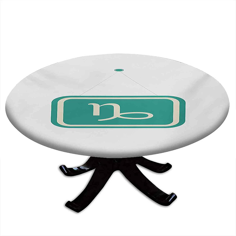 San Antonio Mall Round Tablecloth with Elastic Minimalist Ranking TOP19 Design Edges Inspirati