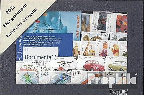 precios mas baratos Prophila Prophila Prophila sellos para coleccionistas  RFA (RFA.Alemania) 2002 con 2303-2304 bc y bd sin 2278 C matasellado completo año en limpio conservación  minorista de fitness
