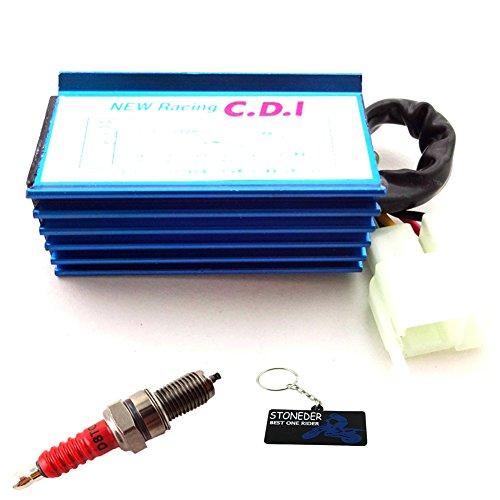 Stoneder, candela CA CDI a 6 pin + D8TC per CG 125 150 250cc Pit Motor Bike ATV