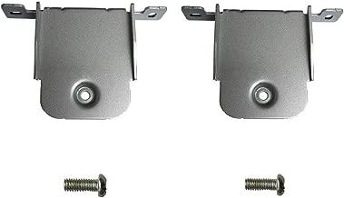 1 Pair of Silver Wall Bracket for LG Soundbar SH2 SH4 SH7 SK4D SJ8 SPH5B-W NB3540 NB554 S44A1-D S54A1-D S55A1-D NB5540 NB4540 NB4540 NB5542 NB4542 LAS551H LASC55