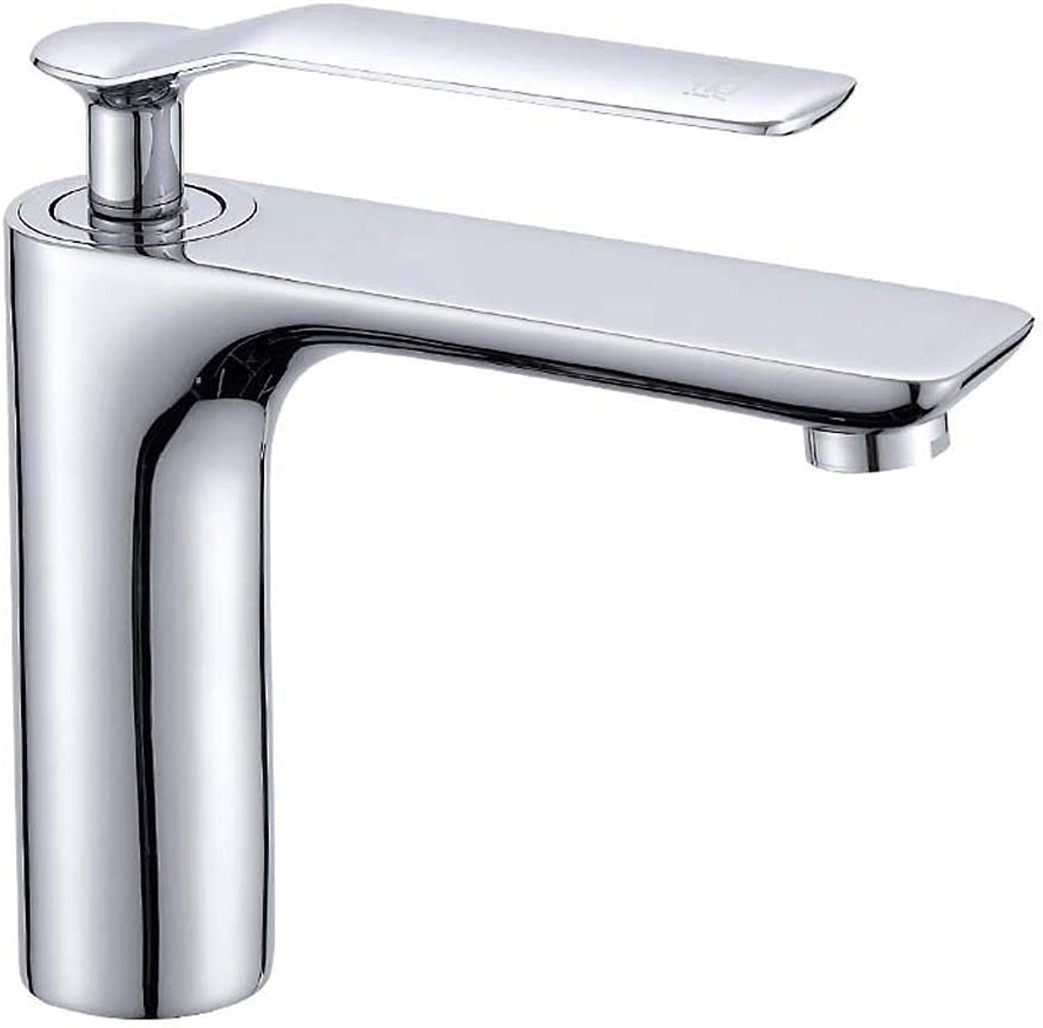 Wash Basin Faucet Lengthen Hot and Cold Paint, for Bathrooms Bathtub Toilet Washbasin with Water Pipes (color     Electroplating)