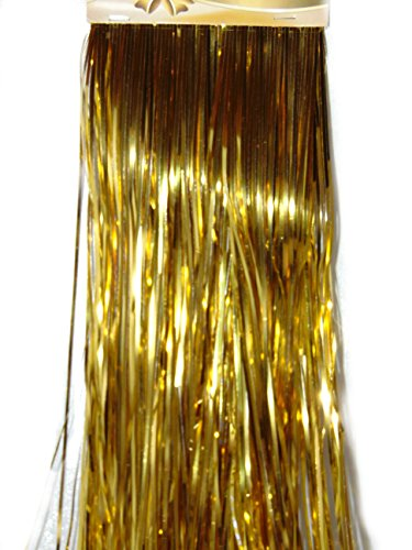 Gold Lametta 50 cm Neu