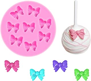 Yunko W0770 8 Mini Bows Silicone Mould Fondant Sugar Bow Craft Molds DIY Cake Decorating