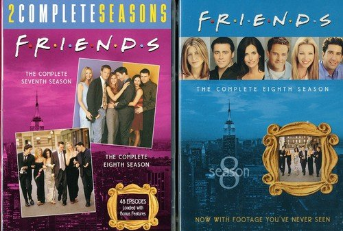 Friends: The Complete Overseas parallel import regular item Mesa Mall Seventh and Eighth Seasons G to Back