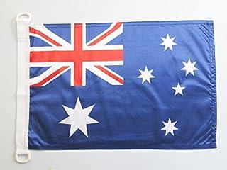 AZ FLAG Bandera Nautica de Australia 45x30cm - Pabellón de conveniencia Australiana 30 x 45 cm Anillos