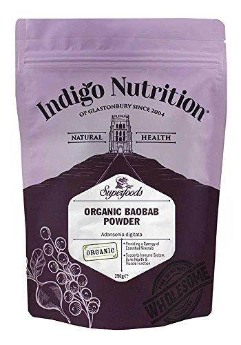 Baobab orgánica de frutas en polvo - 250 g (orgánico certi