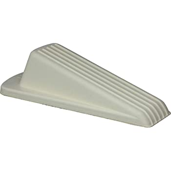 Shepherd Hardware 9163 Door Stop, 1 pack, Off-White