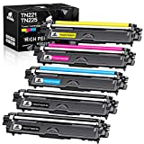 IKONG Compatible Toner Cartridge Replacement for Brother TN221 TN225 TN-221 TN-225 use with HL-3170CDW HL-3180CDW MFC-9130CW MFC-9330CDW MFC-9340CDW Printer (2 Black, 1 Cyan, 1 Magenta, 1 Yellow)