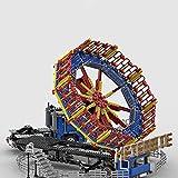 Fujinfeng Gran parque de atracciones 2062 piezas compatible con Lego 10261 10247 10257 71040