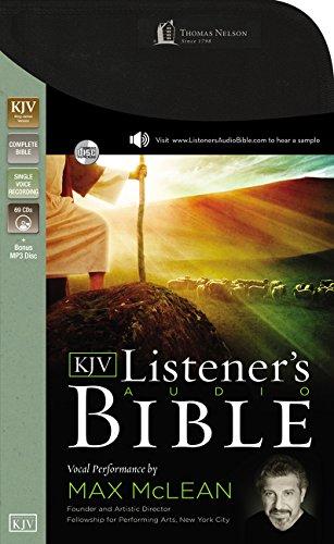 KJV, Listener's Audio Bible, Audio CD: Vocal Performance by Max McLean