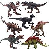 Taktik Jumbo Dinosaur Set Plastic Dinosaur Playset for Kids Detailed Realistic Large Dinosaur Toys Set for Dinosaur Lovers Dinosaur Toys for Toddlers, Boys and Girls