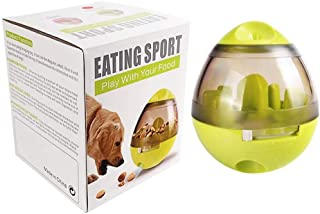 Pet Food Ball - Fun and Interactive Treat Dispensing Toys for Dogs & Cats: Increases IQ and Mental Stimulation: Best Alter...