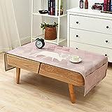 El salón café mantel en tela de algodón mantel rectangular simple armario TV Nevera cubierta antipolvo,tabla G paño de algodón,70*180cm.