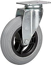 Zwenkwiel 150 mm luchtband met kunststof velg