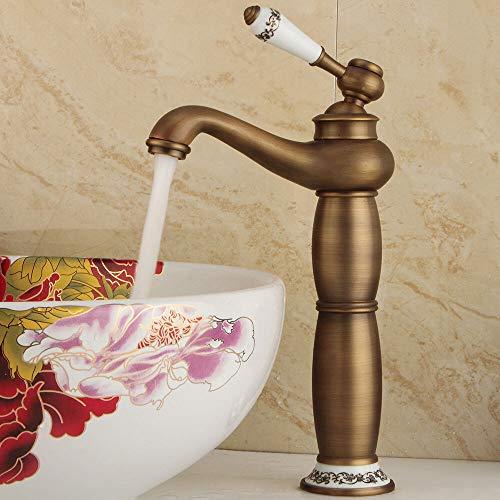 Nostalgische Retro Wasserhahn Einhebel Armatur Waschbecken Küche Bad Mischbatterie
