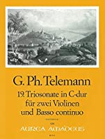 TELEMANN - Trio Sonata en Do Mayor (TWV:42/c 3) para 2 Violines y Piano (Pauler/Hess)