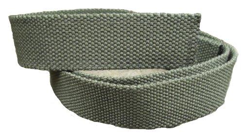 ABL Stoffgürtel Klett Koppel Gürtel mit Klettverschluss, oliv 120 cm