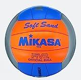 MIKASA Soft Beach Volleyball, Mehrfarbig, 5