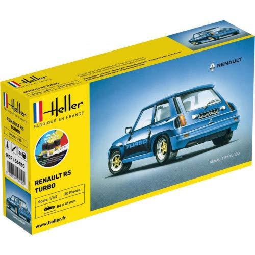 Heller - Kit de maqueta de coche para Renault R5 Turbo – 1/43 56150