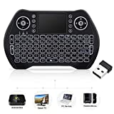 Mini Wireless Keyboard with Touchpad Mouse, Wireless Keyboard for Smart TV,...