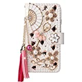 Awenroy Luxury Wallet Case for Wiko Sunny 2 Plus Glitter