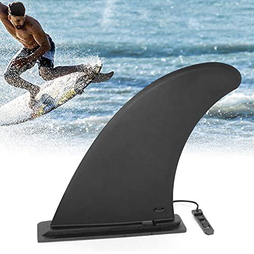 JEEZAO Fin Surf Pinna Direzionale Kayak Skeg Watershed Tracking Fin per Kayak Canoe Paddle Board Canoa Surf Board Longboard/Tavola da Surf/Stand up Paddle Board. (Nero)