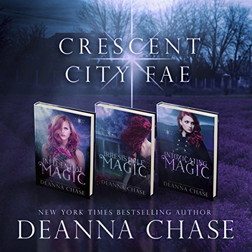 Crescent City Fae: Complete Boxed Set (Books 1-3) cover art
