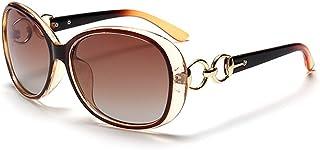 710a12026d BLDEN Gafas de Sol Polarizadas Mujer, Moda Casual Estilo Gafas de Sol Oval  Elegante UV