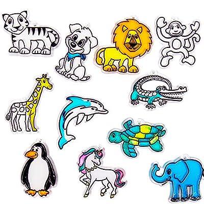 Animal Suncatcher Refill Pack 12 by