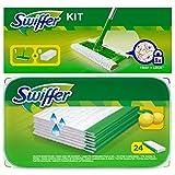 1x Swiffer Starter Set suelo Varilla Con 8Seco paños 1x 24'er Swiffer Wet humedad suelo paños