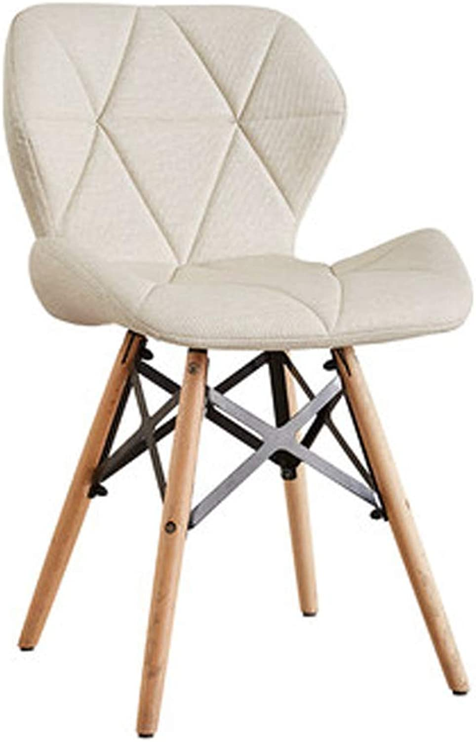 YIZI Creative Simple Home Computer Chair (color   White)