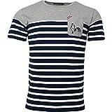 T-Shirt Rugby Marinière - La chinée - L