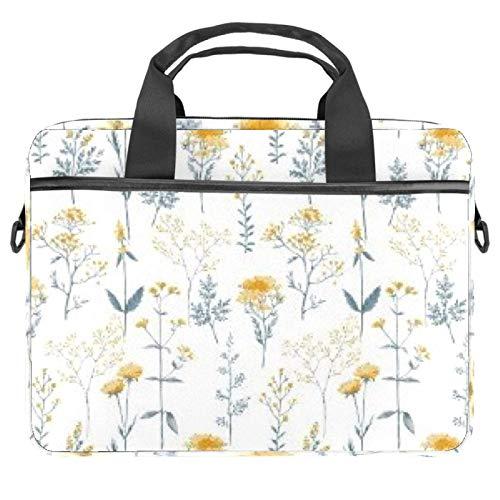 Bolsa de ordenador portátil de bruja de cocina de la manga del cuaderno con la manija 13.5-14.5 pulgadas que lleva el bolso del hombro maletín