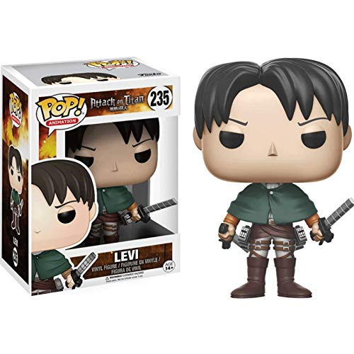 Funko Pop Animation : Attack on Titan - Levi Figure Gift Vinyl 3.75inch for Anime Fans Gift