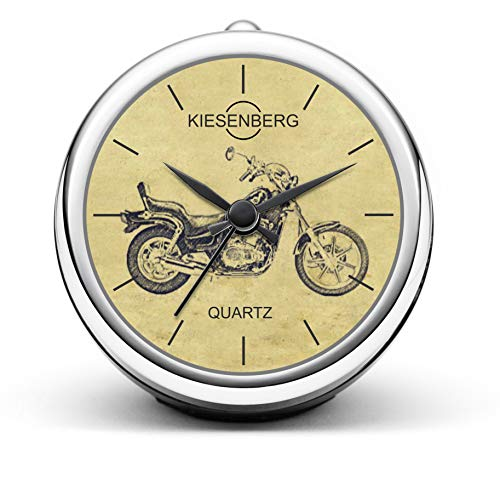 KIESENBERG Design Orologio da Tavolo Regalo per EN 500 A/A Motocicletta Fan Clock T-5229