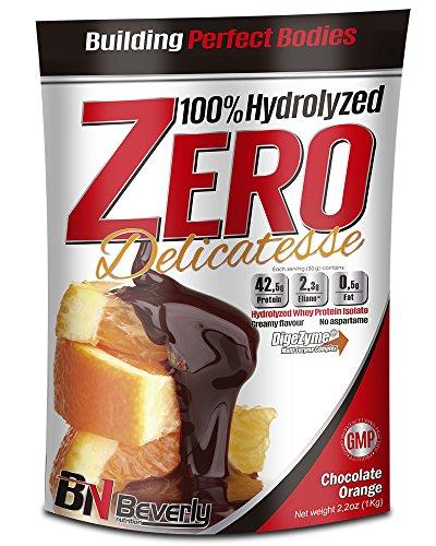 Beverly Nutrition Delicatesse Hydrolyzed Zero Proteína Hidrolizada Sabor Chocolate Naranja - 1000 gr