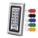 NN99 IP68 Impermeable Teclado de Control de Acceso de RFID Controlador de Acceso a Prueba de lluvia Teclado Lector de 125 KHz EM con 10pcs llaveros