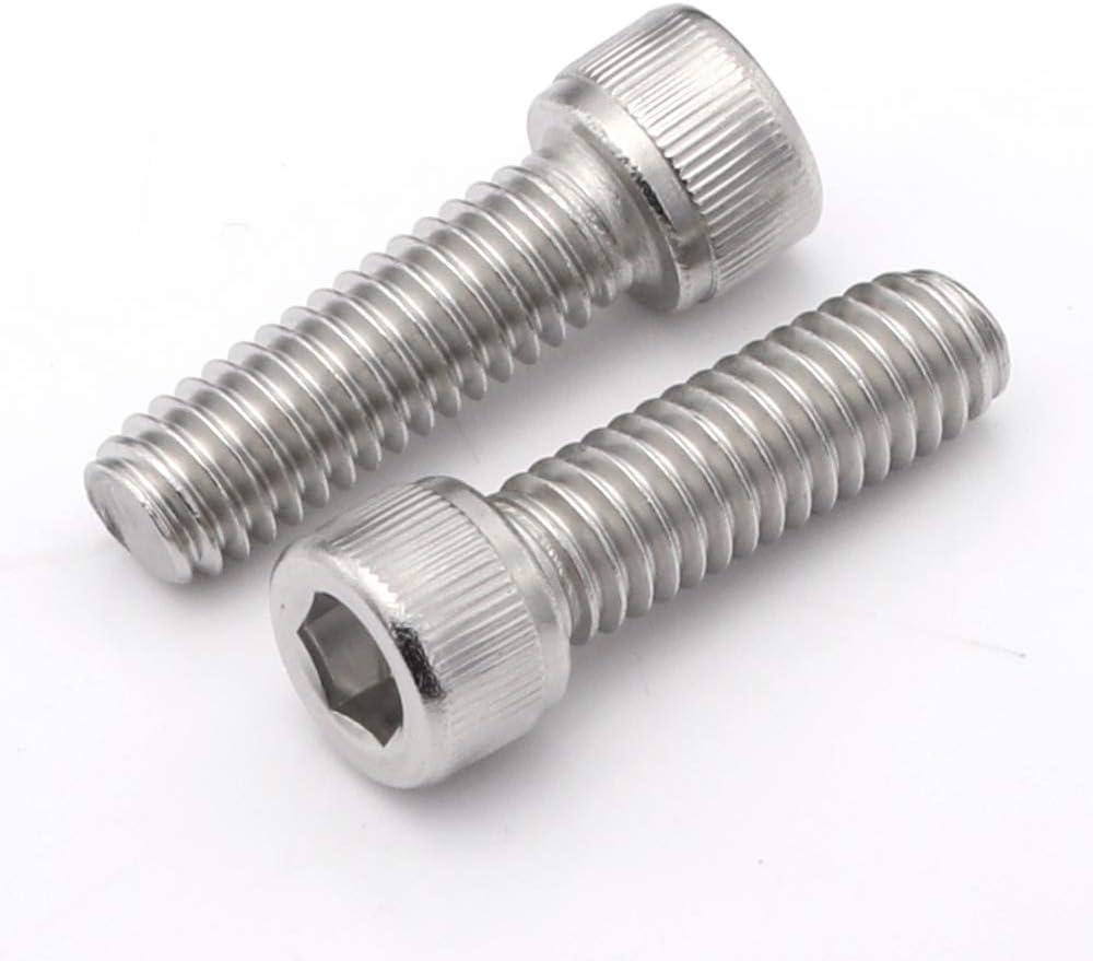 Stainless Steel M3 x 6mm Low Profile Socket Head Cap Screws A2 304 18-8