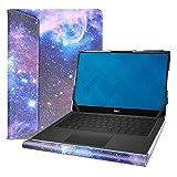 Alapmk Diseñado Especialmente La Funda de Cuero de PU para 13.3' DELL XPS 13 9380 7390 Series Laptop[No Compatible con:DELL XPS 13 9370 9360 9350/XPS 13 2 in 1 7390/Inspiron 13 2-in-1 7390],Galaxy