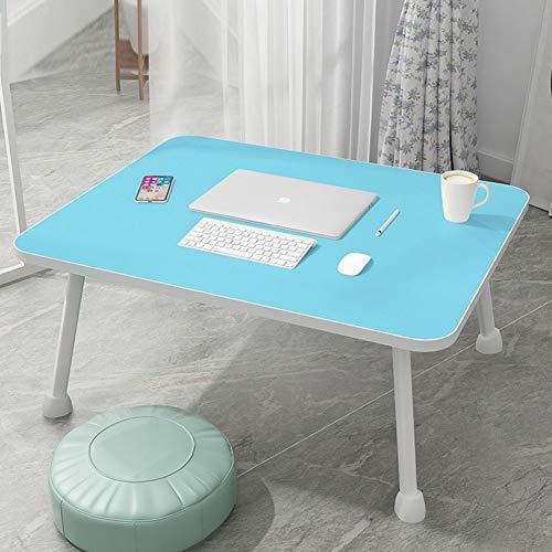 Klapptisch, Klappbarer Nachttisch Schreibtisch Computertisch Studiertisch Einfacher Esstisch Fauler Tisch Glatt Leicht Zu Reinigen Ladekapazität Stark Einfache Aufbewahrung(60*40*28 Cm,7 Farben)
