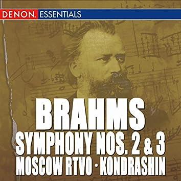 Brahms: Symphony Nos. 2 & 3