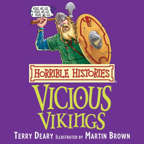 Horrible Histories: Vicious Vikings audiobook cover art