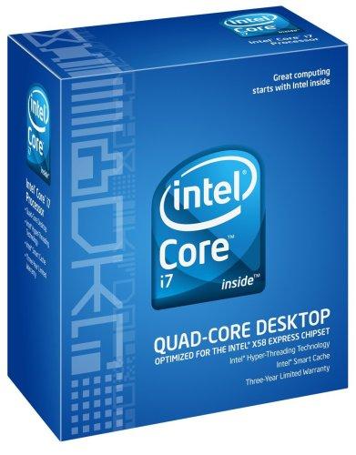Intel Core i7-920 2.66GHz 8MB QPI DDR3 LGA1366 Prozessor