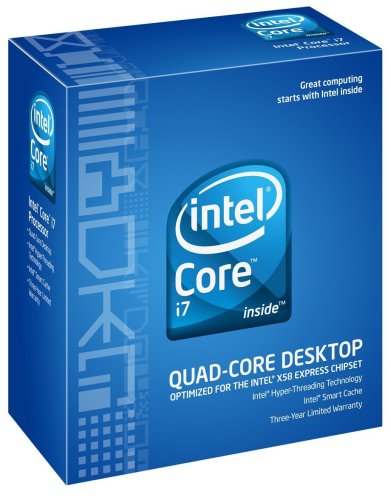 Intel Core i7-920 - Procesador (Intel Core i7, 2,66 GHz, Socket B (LGA 1366), 45 NM, i7-920, 4,8 GT/s)