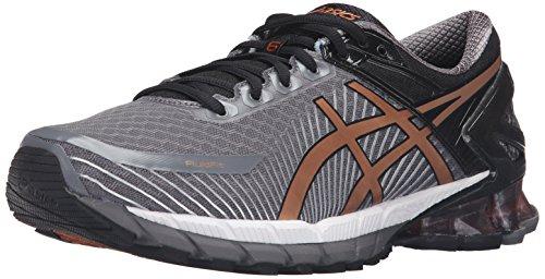ASICS GEL-Kinsei 6 Chaussures de course pour homme, gris (Carbone/cuivre/noir.), 40.5 EU